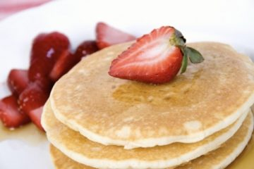 Panqueques (Hot cakes)  con Proteína