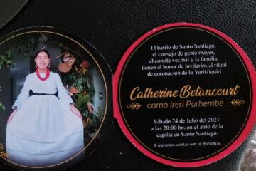 Catherine Betancourt, irerí purhembe 2021-2022 de Santo Santiago