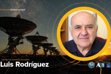 Luis Felipe Rodríguez, recibe la prestigiosa Cátedra Karl G. Jansky