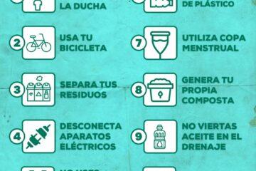 Retos ambientales que puedes poner en práctica desde tu hogar para el cuidado del medio ambiente