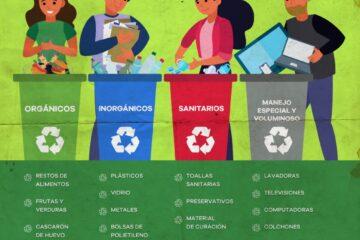 ¿Sabes separar correctamente los residuos sólidos?