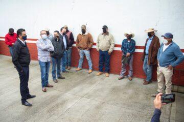 Retoma Semaccdet recorridos en campos de cultivo en Lagunillas y Huiramba, ante inquietudes de campesinos