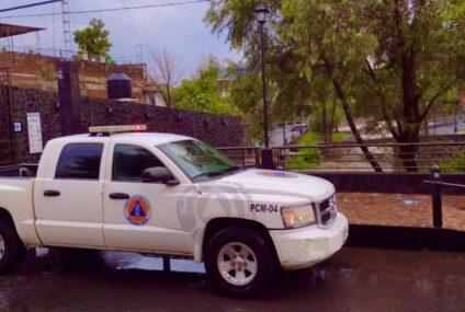 Se mantiene Protección Municipal en monitoreo permanente por intensas lluvias