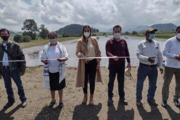 Se concreta sueño de San Felipe de los Herreros de contar con planta de tratamiento de aguas residuales