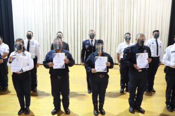 Se avanza en la educación policial en Michoacán
