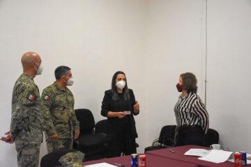 Diputadas dan seguimiento a iniciativa para conmemorar a la Armada de México en el Congreso del Estado