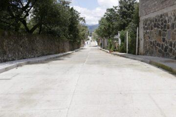 Cumple Gobierno Estatal con obras a habitantes de Tingambato