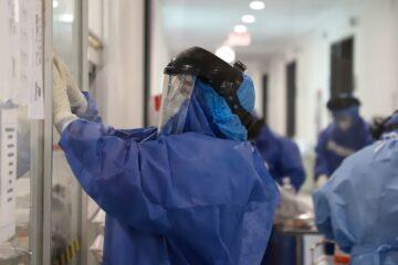 A su máxima capacidad área COVID-19 Hospital General de Pátzcuaro