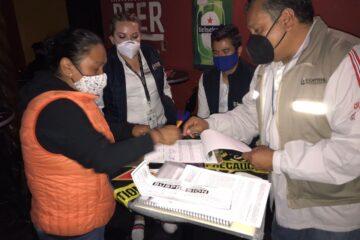 Suspendidos en Morelia, 3 establecimientos por no cumplir medidas anti COVID-19