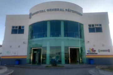 Reporta hospital de Pátzcuaro saturación de área COVID-19