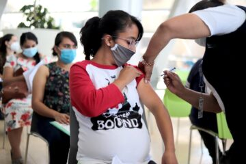 Aplicadas, 27 mil 687 dosis de vacuna anti COVID-19 a embarazadas