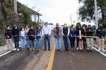 Día histórico para la comunidad de Plan de la Cárcel, en Tacámbaro, con inauguración de camino