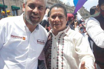Las y los michoacanos merecen un cambio: Casimiro Méndez Ortiz