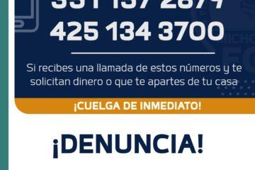 Localiza Fiscalía General a dos hermanos víctimas de extorsión virtual en La Piedad