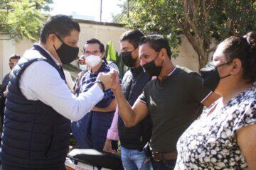 Alta participación ciudadana en jornada de vacunación contra Covid 19