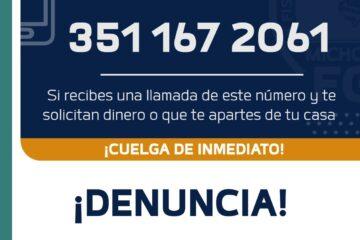 Localiza Fiscalía General a pareja víctima de extorsión virtual en Zamora