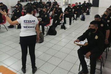 Continúa IEESSPP capacitando a policías estatales en Campeche