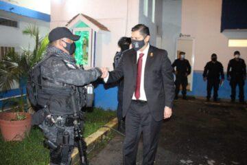 Ignacio Campos realiza la tradicional liberación de presos