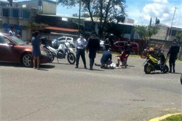 Motociclista muere tras ser impactado por auto