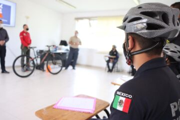 Inicia IEESSPP curso para conducción de bicicletas