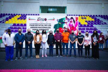 Nacho Campos inauguró Juegos Populares Nacionales
