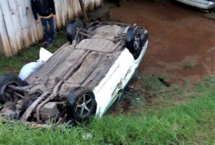 2 accidentes de autos; hay 2 lesionados leves