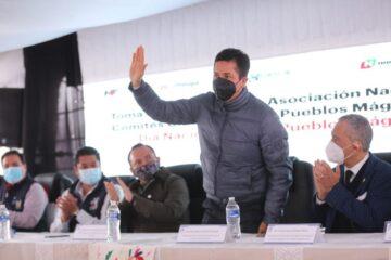 Antonio García reitera compromiso con el turismo en el Día Nacional de los Pueblos Mágicos