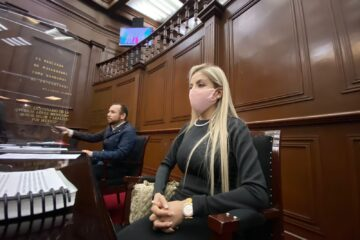 Con la nueva Ley, el gobierno de Michoacán tendrá mayor certeza jurídica: Belinda Hurtado.