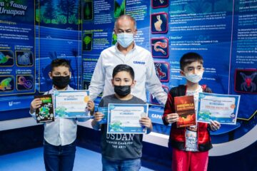 """CAPASU entrega premios a participantes del 1er Concurso de Cuentos """"El Planeta Que Quiero Yo"""""""