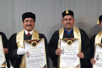 Raúl Gonzalez Nova recibe Doctor Honoris Causa de la Facultad de Comunicación y Periodismo de Monterrey